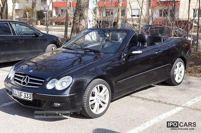 2007 mercedes benz clk 320 cdi avantgarde car photo and specs. Black Bedroom Furniture Sets. Home Design Ideas