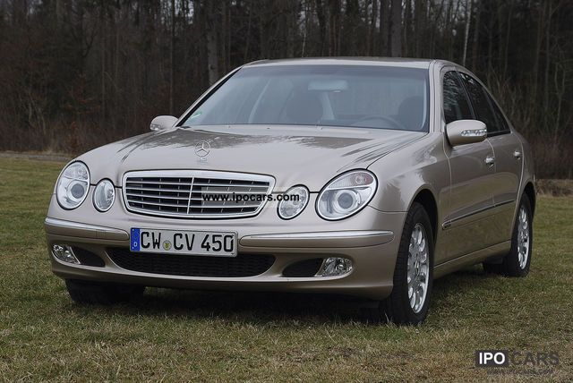 2003 Mercedes-Benz  E 200 CDI Elegance Auto Limousine Used vehicle photo