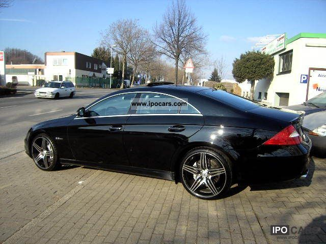 2005 mercedes benz cls 55 amg automatic full keyles go for Mercedes benz cls 2005