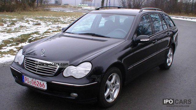 2003 mercedes benz c 240 avantgarde t car photo and specs for Mercedes benz c 240