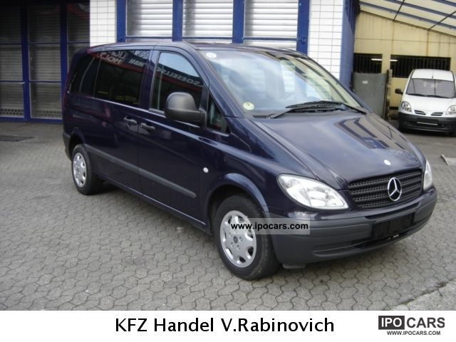 2004 MercedesBenz Vito 109 CDI Air conditioning Power windows