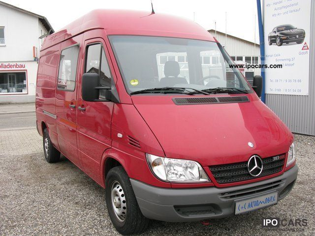 2005 Mercedes Benz Sprinter 313 Cdi High Lang Esp Apc Car