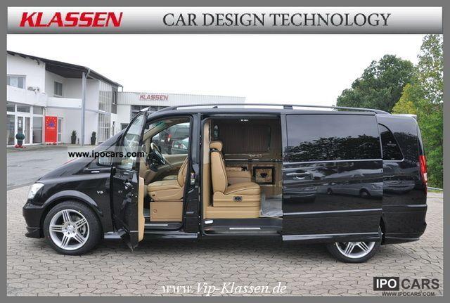 2011 Mercedes-Benz Viano 3.5 V6 / CLASSES / VIP / RHD - Car Photo and Specs