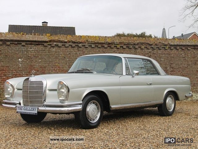 Mercedes-Benz  280 SE W111 C 1968 Vintage, Classic and Old Cars photo