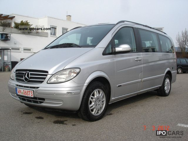 2004 mercedes benz viano 2 3 fuel gas long fun car. Black Bedroom Furniture Sets. Home Design Ideas
