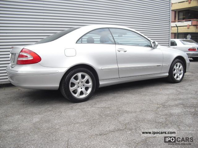 2002 mercedes benz clk 240 coupe auto leather 64 tkm 1 for Mercedes benz clk 240