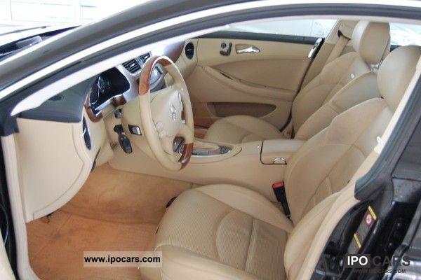 Mercedes Cls 2007 Interior 2007 Mercedes Benz Cls 63