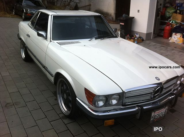 Mercedes-Benz  SL old 450 38 years from L. A. (USA) 1974 Vintage, Classic and Old Cars photo