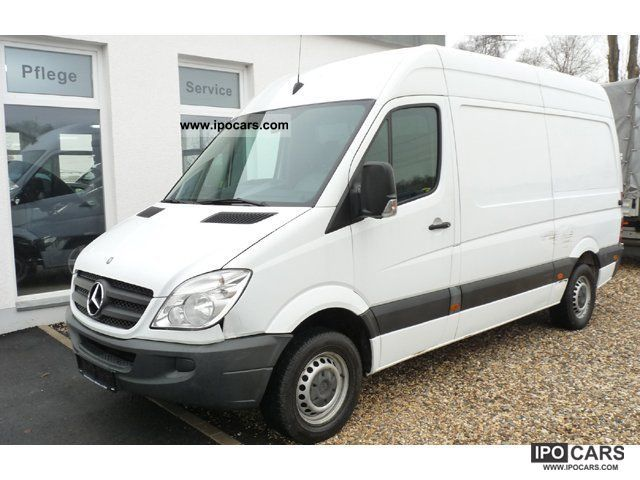 2007 mercedes benz 209 cdi sprinter 906 613 high roof. Black Bedroom Furniture Sets. Home Design Ideas