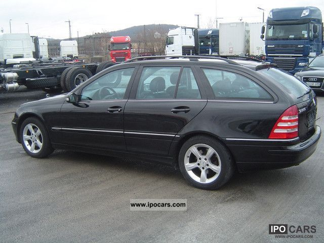 2004 mercedes benz c 200 t cdi avantgarde alu leather climate control car photo and specs. Black Bedroom Furniture Sets. Home Design Ideas