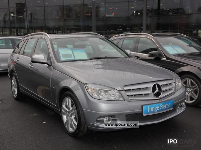 2008 mercedes benz c 200 t cdi parktronic climate sitzhzg car photo and specs. Black Bedroom Furniture Sets. Home Design Ideas