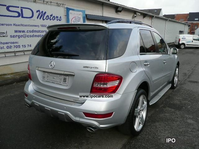 2009 mercedes benz ml 350 cdi 4 matic amg pack leather. Black Bedroom Furniture Sets. Home Design Ideas