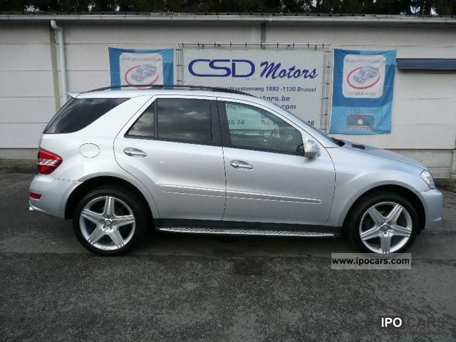 2009 mercedes benz ml 350 cdi 4 matic amg pack leather for Mercedes benz ml 350 2009