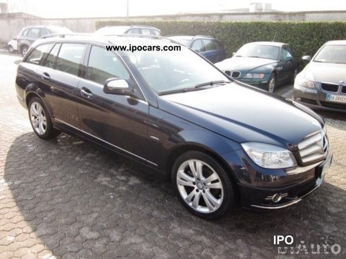 2009 mercedes benz c 220 cdi s w avant garde 1836 car photo and specs. Black Bedroom Furniture Sets. Home Design Ideas