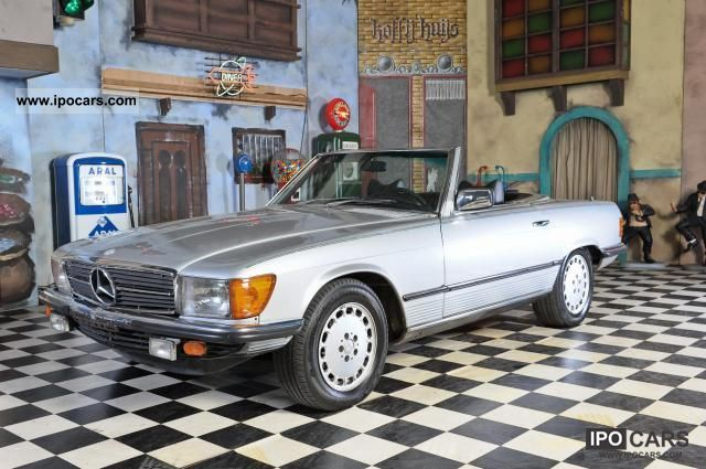 Mercedes-Benz  450 SL hardtop + child seats W107/R107 1979 Vintage, Classic and Old Cars photo