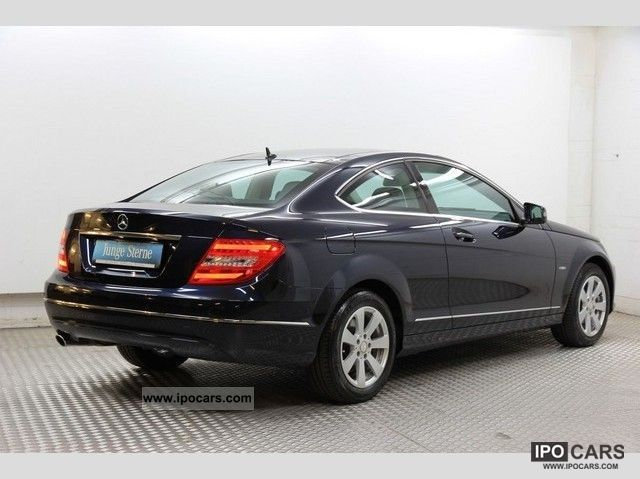 2011 mercedes benz c 220 cdi coupe panoramic roof ahk for Mercedes benz parktronic