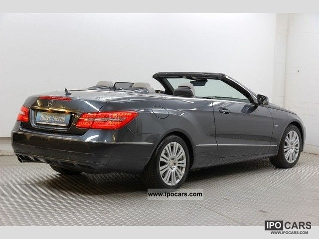 2010 mercedes benz e 200 cgi convertible automatic leather parktronic car photo and specs. Black Bedroom Furniture Sets. Home Design Ideas