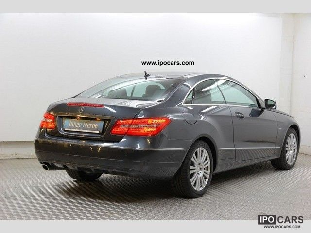 2011 mercedes benz e 200 cgi coupe panoramic roof xenon for Mercedes benz panoramic roof