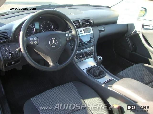 2005 Mercedes Benz Classe C 200 Cdi Sports Coupe Car