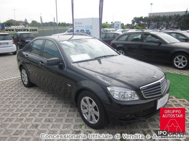 2010 mercedes benz c 200 cdi blueefficiency classic car photo and specs. Black Bedroom Furniture Sets. Home Design Ideas
