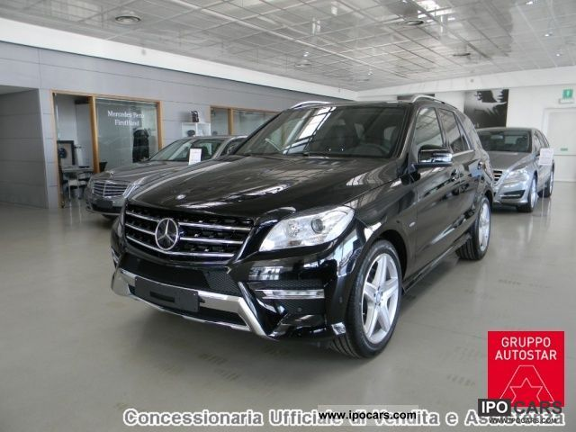 2011 mercedes benz ml 250 bluetec premium conc ufficiale for Mercedes benz ml 250 bluetec