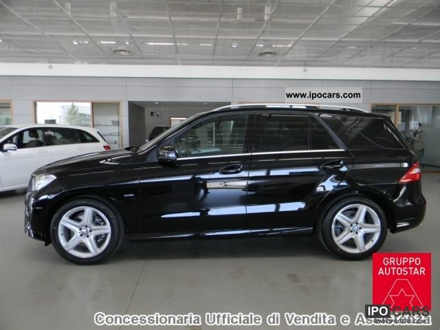 2011 Mercedes Benz Ml 250 Bluetec Premium Conc Ufficiale