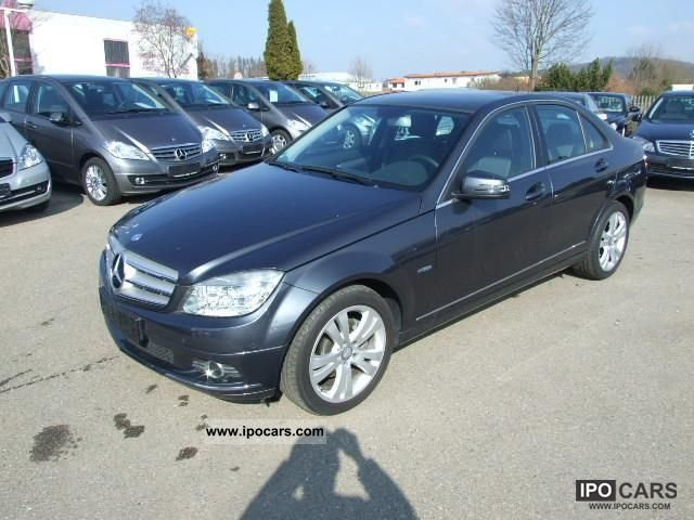 2009 mercedes benz c 220 cdi blue eff avant garde vision gshd pts car photo and specs. Black Bedroom Furniture Sets. Home Design Ideas