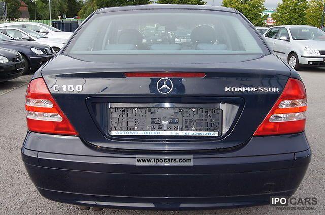 2002 Mercedes Benz C 180 Kompressor Automatic Air Conditioning Euro4