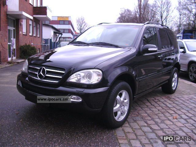 2004 mercedes benz ml 400 cdi leather navi fully equipped car photo and specs. Black Bedroom Furniture Sets. Home Design Ideas