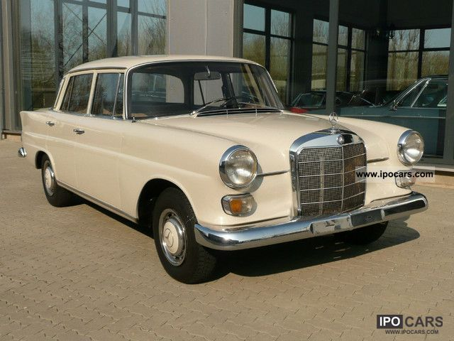 Mercedes-Benz  200 W 110 D 1966 Vintage, Classic and Old Cars photo