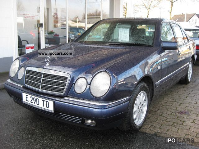 1997 mercedes benz e 290 td elegance automatic ahk 1900 for Mercedes benz 1900 model