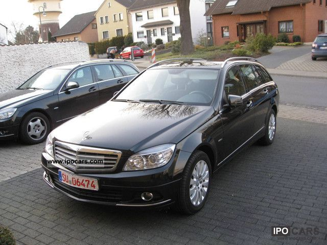 2009 mercedes benz c 220 cdi elegance auto dpf car photo and specs. Black Bedroom Furniture Sets. Home Design Ideas