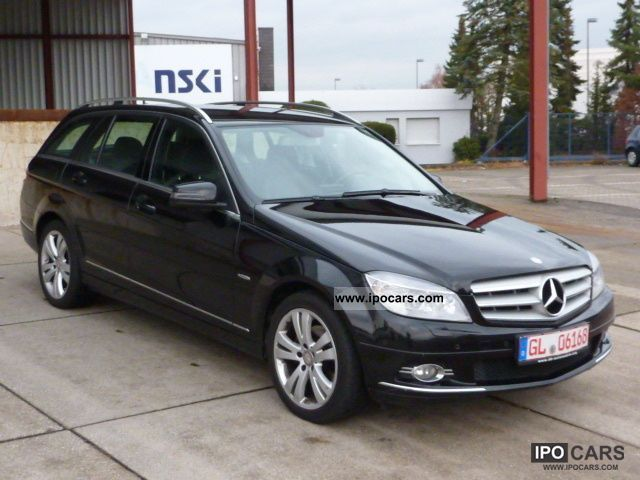 2008 mercedes benz c 200 t cdi avantgarde panorama navi. Black Bedroom Furniture Sets. Home Design Ideas