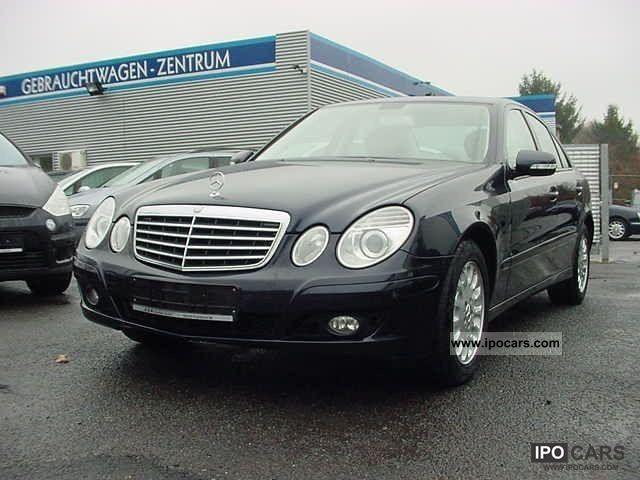 2007 mercedes benz e 220 cdi dpf classic navi for Mercedes benz parktronic