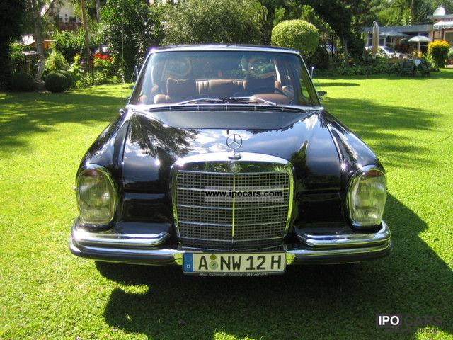 1970 Mercedes-Benz  280 SEL W108 Watch H-approval Limousine Classic Vehicle photo