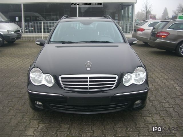 2007 mercedes benz c 200 t cdi avantgarde dpf car photo and specs. Black Bedroom Furniture Sets. Home Design Ideas