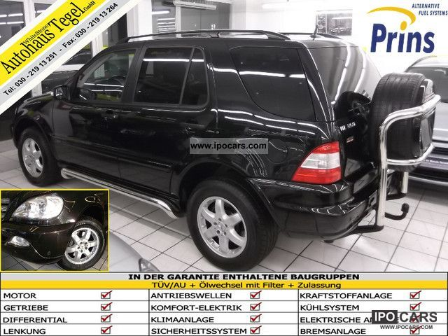 Mercedes-Benz  ML 350 * inspiration * PRINS LPG Comand Leather Xenon 2004 Liquefied Petroleum Gas Cars (LPG, GPL, propane) photo