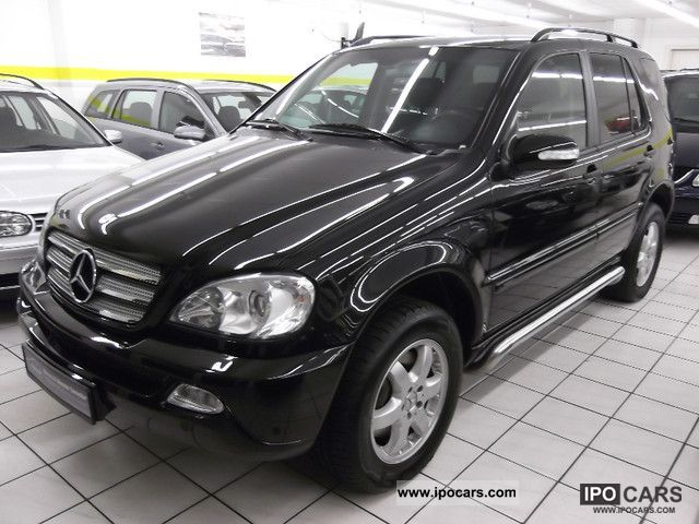 2004 mercedes benz ml 350 inspiration prins lpg comand leather xenon car photo and specs. Black Bedroom Furniture Sets. Home Design Ideas