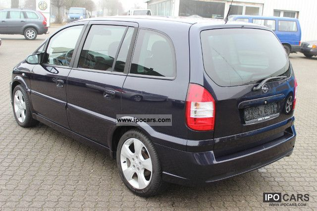 2003 opel zafira 2 2 dti opc sportline car photo and specs. Black Bedroom Furniture Sets. Home Design Ideas