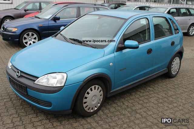 2002 opel corsa 1 0 12v air 1 hand new t v car photo and specs. Black Bedroom Furniture Sets. Home Design Ideas