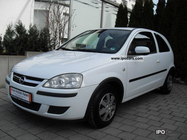 2004 opel corsa 1 2 16vklimaanlage 1 hand euro 4 car photo and specs. Black Bedroom Furniture Sets. Home Design Ideas