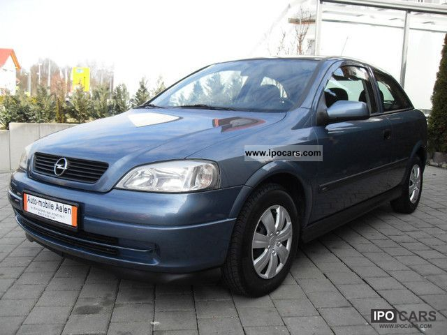 1999 Opel  Sportive Astra 1.6-AIR CONDITIONING-EURO 3-WHB Limousine Used vehicle photo