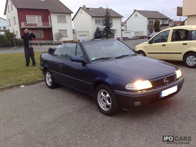1997 opel astra convertible bertone edition car photo and specs. Black Bedroom Furniture Sets. Home Design Ideas