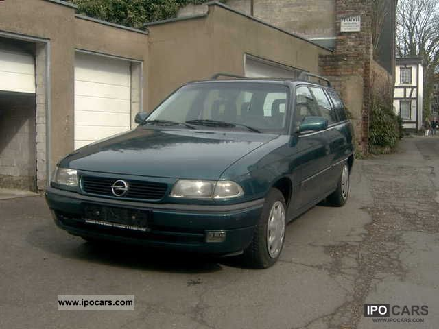 1996 Opel  Astra Estate Car Used vehicle photo