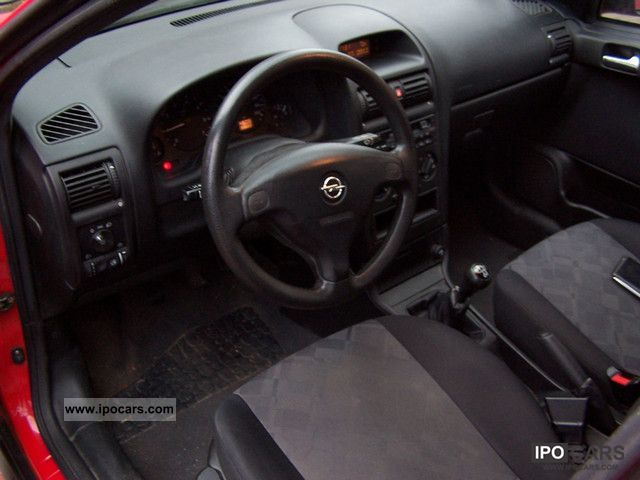 1999 Opel Astra 1 6 Comfort Car Photo And Specs