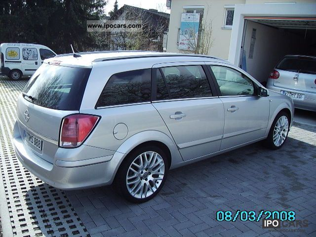 2004 opel astra caravan 2 0 turbo cosmo car photo and specs. Black Bedroom Furniture Sets. Home Design Ideas