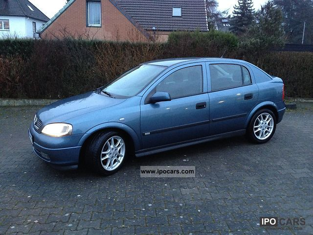 1998 Opel  Astra 2.0 Elegance / air / aluminum / inkl.Winter wheels Limousine Used vehicle photo