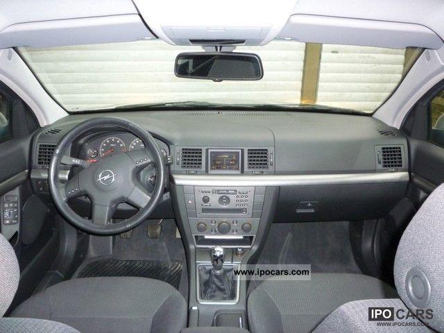 Vectra 2002 Interior 2002 Opel Vectra 1.8