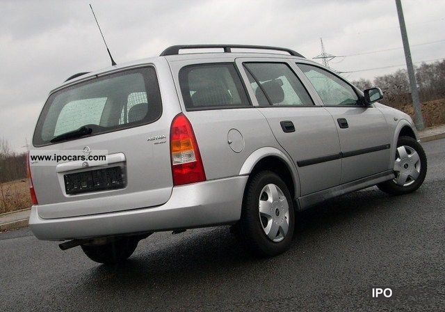 1999 Opel Astra Caravan 1 6 16v Edition 100 Car Photo