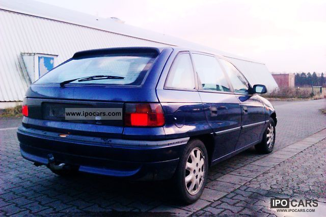 1997 opel astra 1 6 car photo and specs. Black Bedroom Furniture Sets. Home Design Ideas